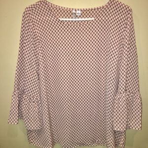 Elle Blouse with Tags